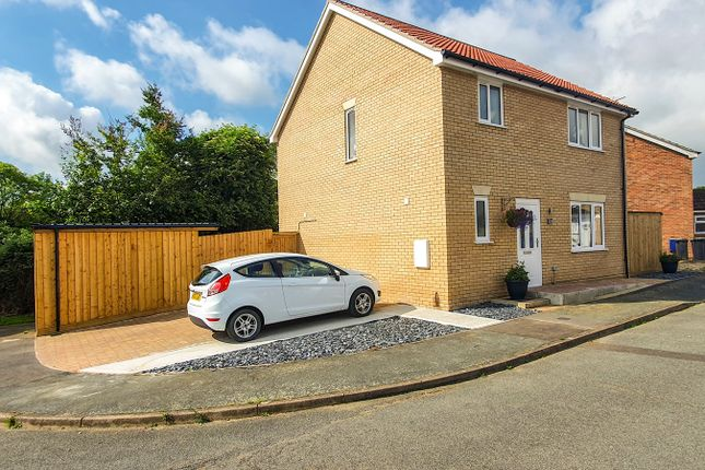 Thumbnail Detached house for sale in Hall Road, Stowmarket