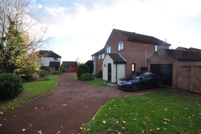 Thumbnail Detached house for sale in Spiers Way, Roydon, Diss