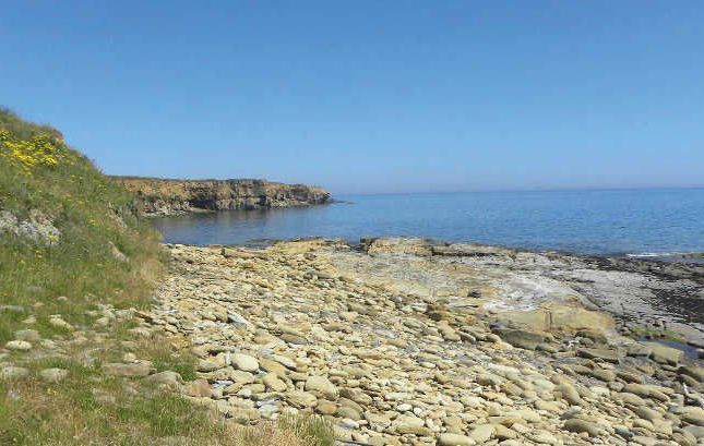 Beach of Church Point, High Street, Newbiggin-By-The-Sea, Northumberland NE64