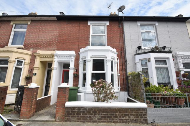 Thumbnail Terraced house to rent in Ruskin Road, Southsea