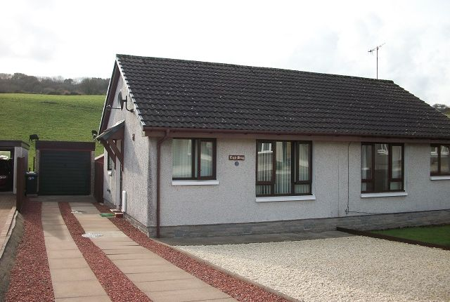 Thumbnail Semi-detached bungalow for sale in 46 Leafield, Stranraer