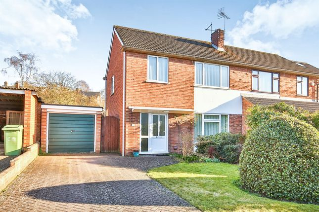 Thumbnail Semi-detached house for sale in Norvic Drive, Norwich
