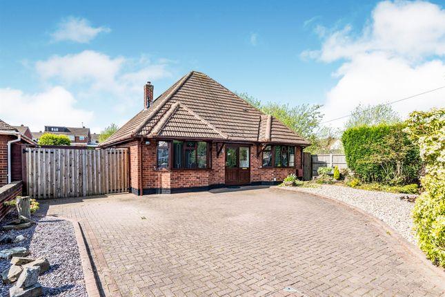 Thumbnail Detached bungalow for sale in Wilnecote Lane, Wilnecote, Tamworth