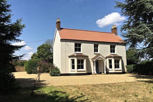 Thumbnail Farmhouse to rent in Morley St Botolph, Wymondham