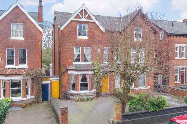 Thumbnail Semi-detached house for sale in Clarendon Road, Edgbaston, Birmingham