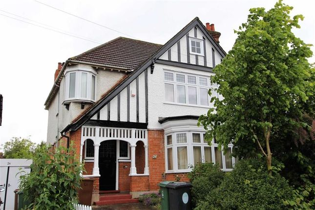 Thumbnail Semi-detached house for sale in Warren Road, North Chingford, London