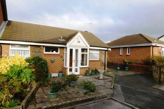Thumbnail Semi-detached bungalow for sale in Kelmarsh Close, Openshaw, Manchester