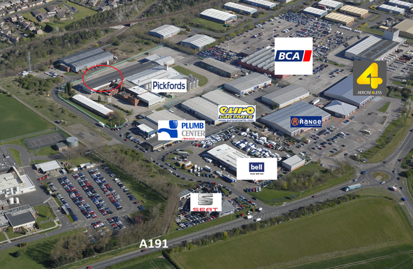 Thumbnail Warehouse to let in Benton Business Park, Bellway Industrial Estate, Whitley Road, Newcastle Upon Tyne