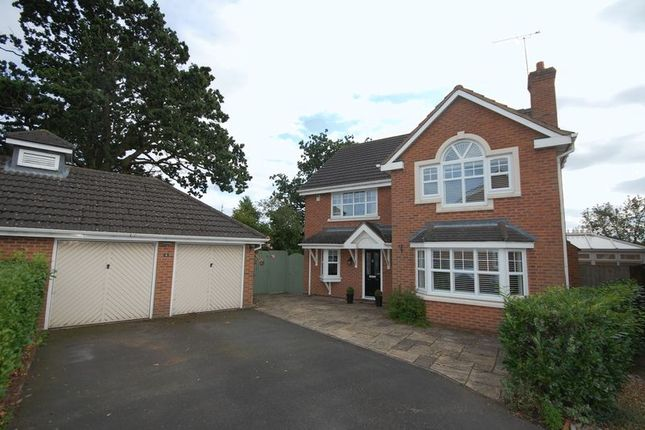 Thumbnail Detached house for sale in Coven Mill Close, Coven, Wolverhampton