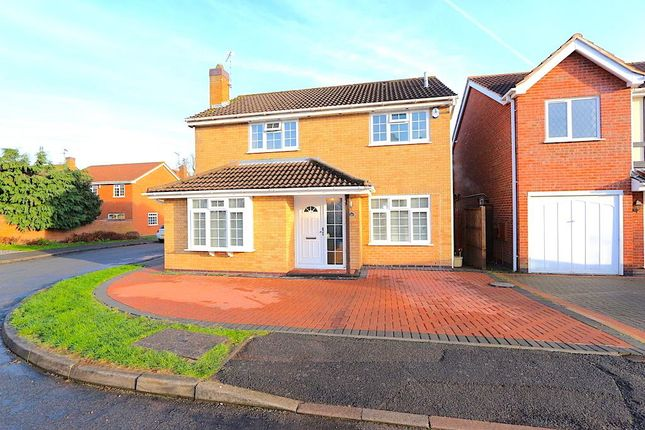 Thumbnail Detached house for sale in Kingcup Close, Leicester Forest East, Leicester