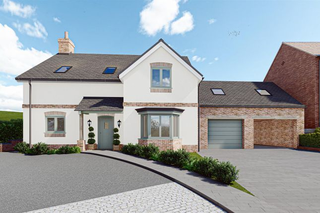 Thumbnail Detached house for sale in Wood View, Glebe Farm, Burton Joyce