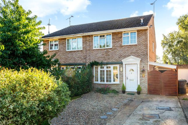 Thumbnail Semi-detached house for sale in Grenville Gardens, Frimley Green, Camberley, Surrey