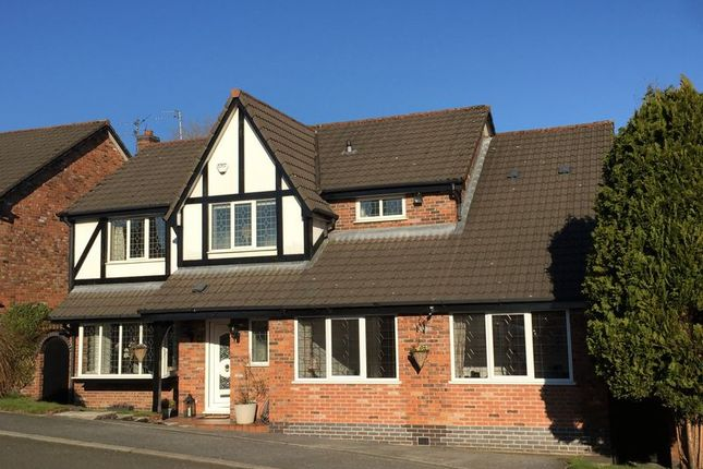Thumbnail Detached house for sale in Falconwood Chase, Worsley, Manchester