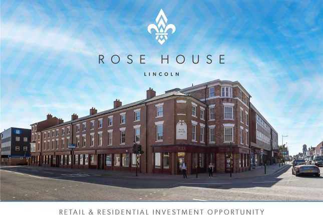 Thumbnail Retail premises for sale in Rose House, Tentercroft Street, Lincoln
