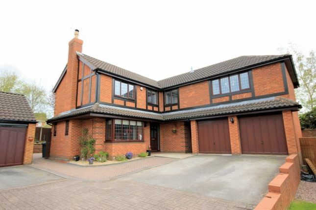 Thumbnail Detached house for sale in Cooper Close, Stone