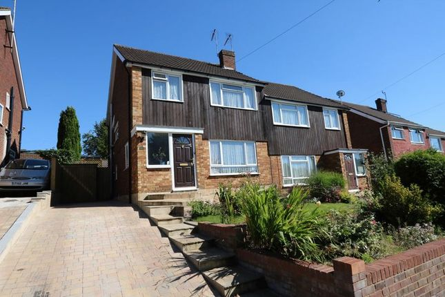 Thumbnail Semi-detached house for sale in Chippendale Close, High Wycombe