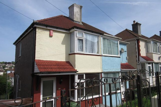 Thumbnail Semi-detached house to rent in Cardinal Avenue, St Budeaux, Plymouth, Devon
