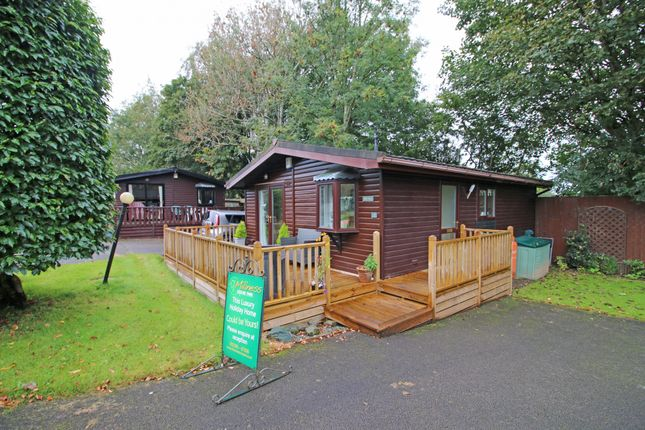 Thumbnail Lodge for sale in Crooklands Millness Hill Leisure Park, Milnthorpe, Carnforth