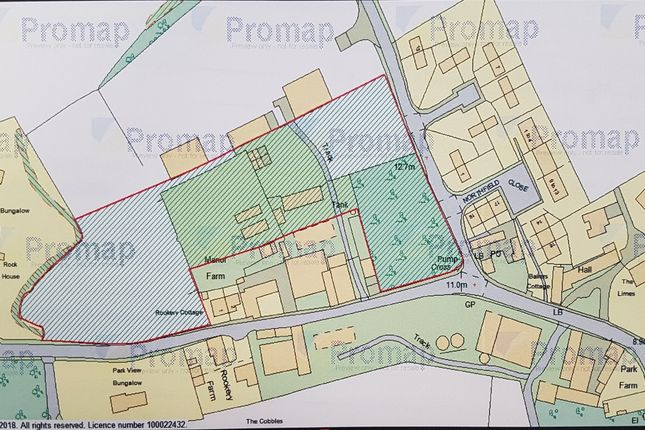 Thumbnail Land for sale in Land Surrounding Manor Farm, Womersley, Doncaster