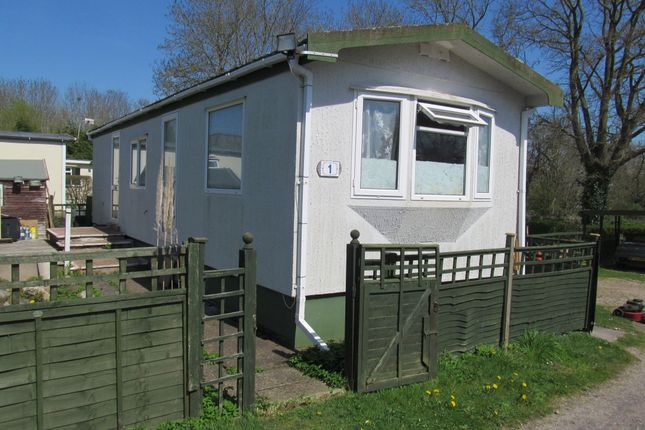 Thumbnail Mobile/park home for sale in Stewley Cross Park, Wood Road, Ilminster, Somerset