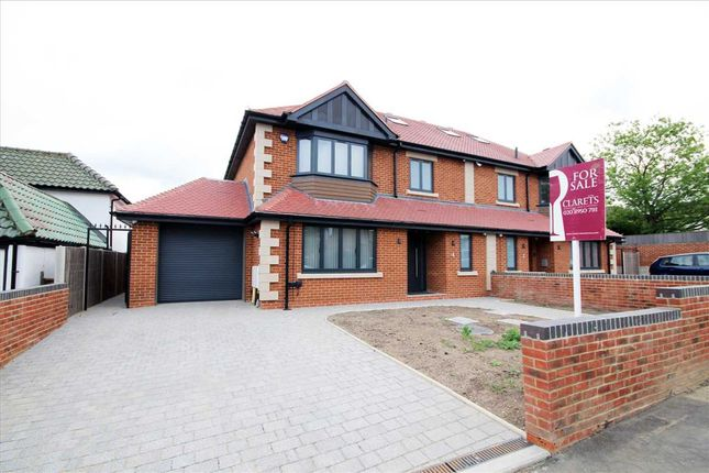 Thumbnail Semi-detached house for sale in Reddings Avenue, Bushey WD23.