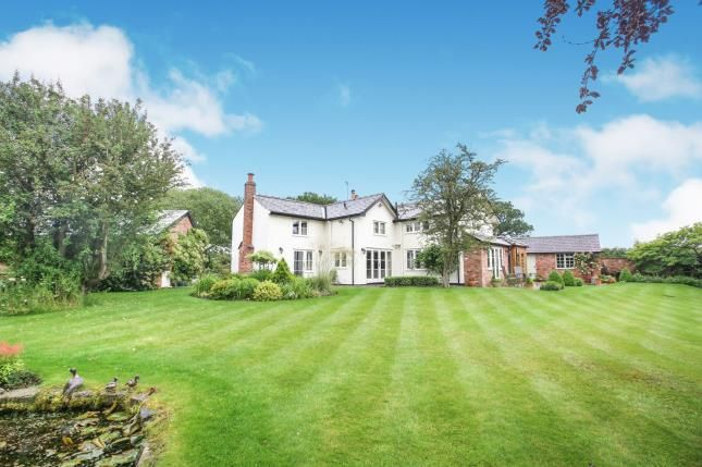 Thumbnail Detached house for sale in Withinlee Road, Mottram St Andrew, Cheshire, Uk
