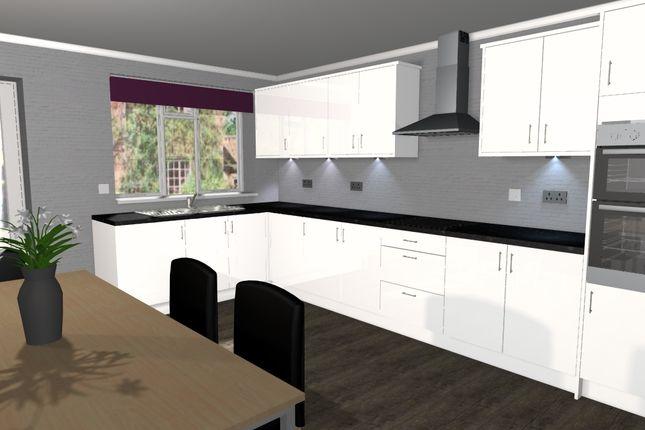 New Build Homes Kingsbury Staffordshire