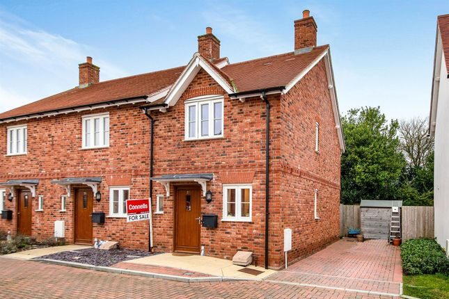 Thumbnail End terrace house for sale in The Old Dairy, Okeford Fitzpaine, Blandford Forum