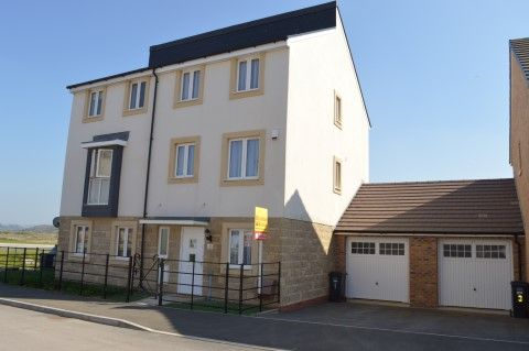 Thumbnail Semi-detached house for sale in Rapide Way, Haywood Village, Weston-Super-Mare