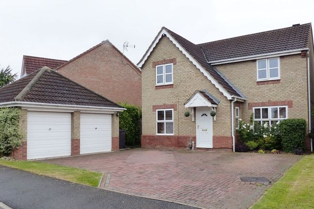 Thumbnail Detached house for sale in Kenyon Close, Heighington, Lincoln