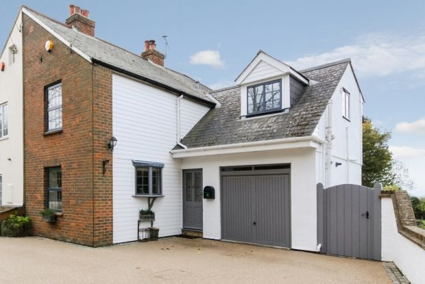 Thumbnail Semi-detached house for sale in Church Road, Chelsfield, Orpington