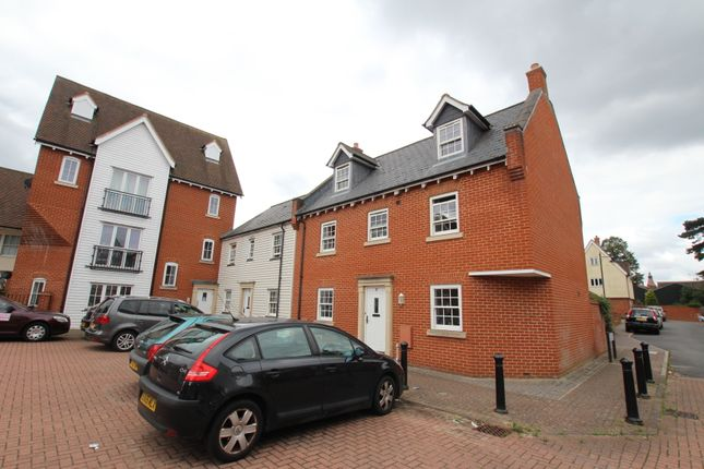 Thumbnail Town house for sale in Edward Paxman Gardens, Colchester