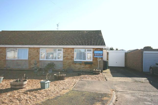Thumbnail Semi-detached bungalow for sale in Harcourt Way, Selsey, Chichester