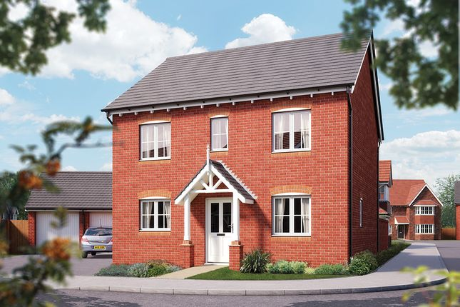 "Thumbnail Detached house for sale in ""The Buxton"" at Weights Lane Business Park, Weights Lane, Redditch"
