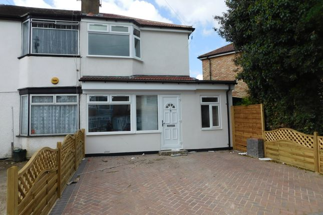 Thumbnail Semi-detached house for sale in Fredora Avenue, Hayes