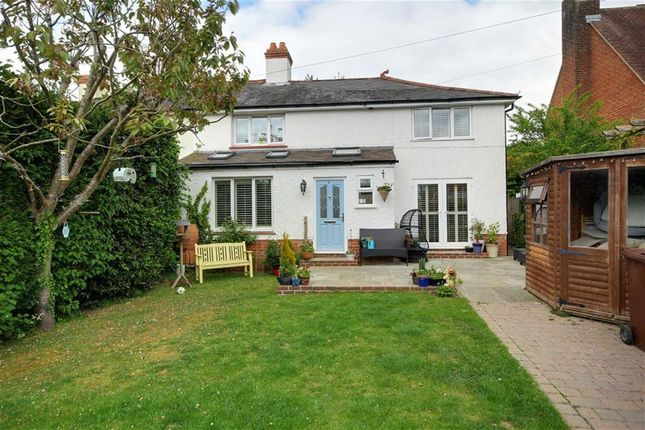Thumbnail Semi-detached house for sale in Nepfield Close, Findon Village, Worthing, West Sussex
