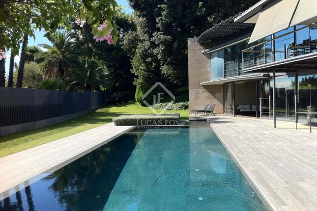 Thumbnail Villa for sale in Spain, Barcelona, Barcelona City, Zona Alta (Uptown), Pedralbes, Lfs4669