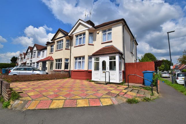 Thumbnail Semi-detached house to rent in Village Way, Pinner, Greater London