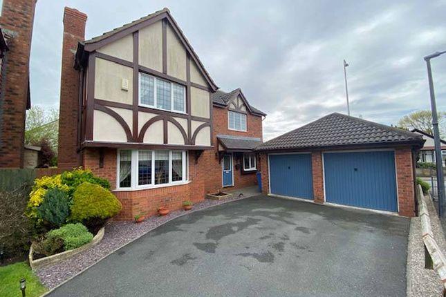 Thumbnail Detached house for sale in Sawthorpe Walk, Poulton-Le-Fylde