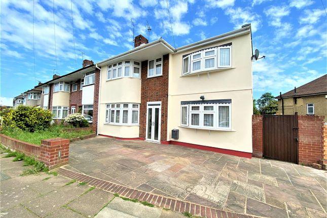Thumbnail End terrace house for sale in Merlin Grove, Barkingside