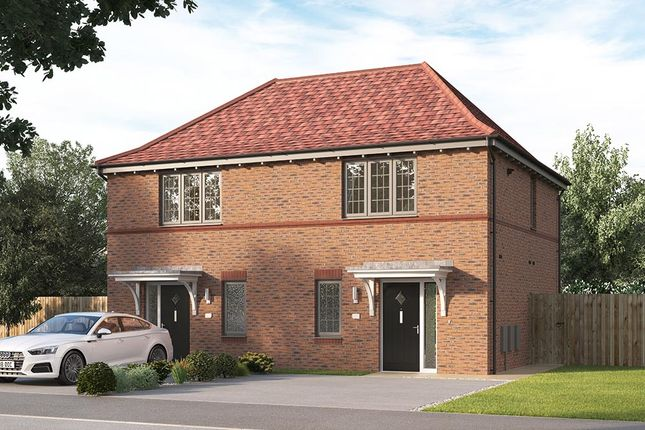 "Thumbnail Semi-detached house for sale in ""The Beckford"" at Steeplechase Way, Market Harborough"
