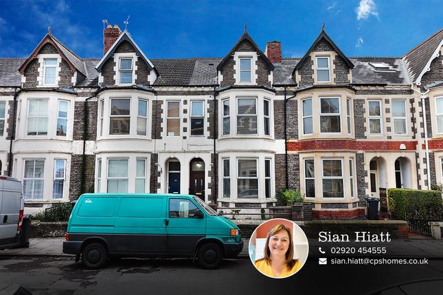 Thumbnail Terraced house for sale in Claude Road, Roath, Cardiff