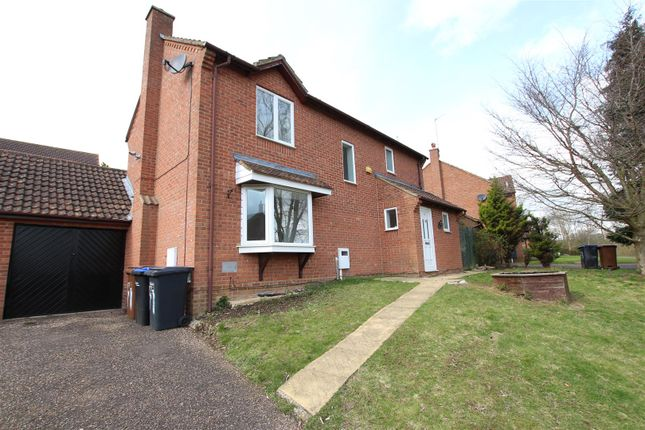 Thumbnail Detached house to rent in Allard Close, Northampton