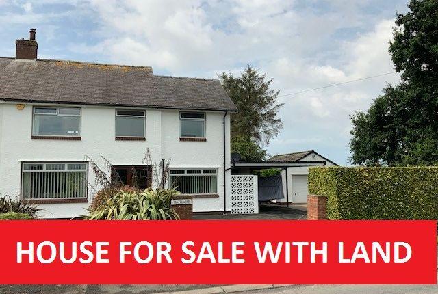 Thumbnail Semi-detached house for sale in Hazlemere, Broomfallen Road, Carlisle