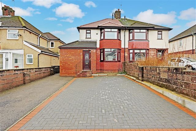 Thumbnail Semi-detached house for sale in Hawthorn Road, Hawthorn, Pontypridd