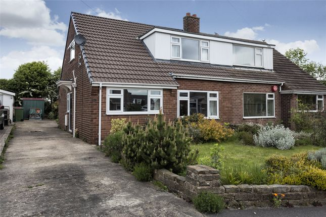 Thumbnail Semi-detached house for sale in Meadow Close, Liversedge, West Yorkshire