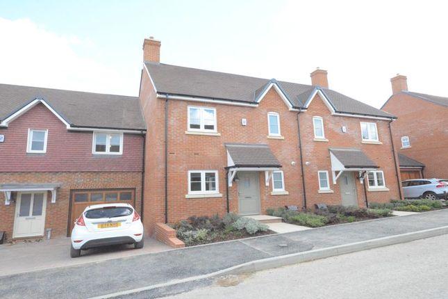 Thumbnail Terraced house to rent in Meadowsweet Lane, Woodhurst Park, Warfield