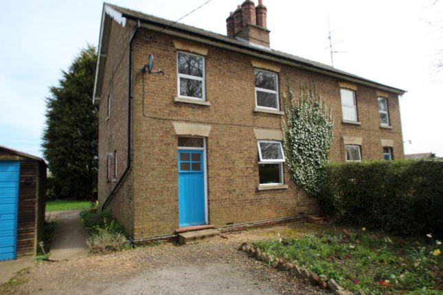 Semi-detached house to rent in Abbey Woodyard, Wood Lane, Huntingdon