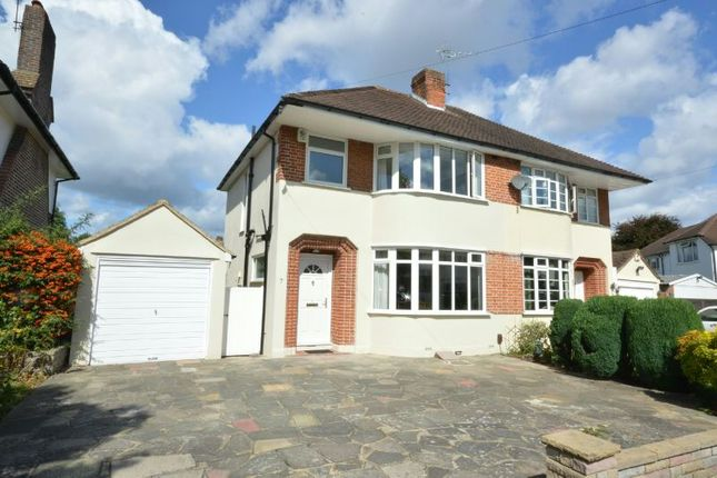 Thumbnail Semi-detached house to rent in Sterry Drive, Epsom