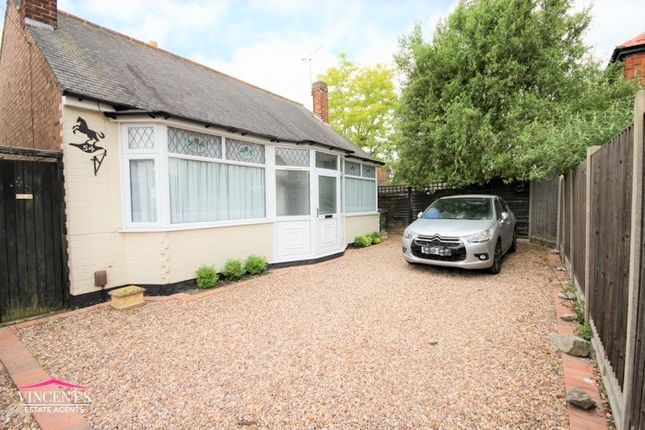 Thumbnail Detached bungalow for sale in The Crossway, Leicester